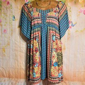 2X BoHo Dress
